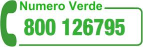 Numero Verde 800 136795
